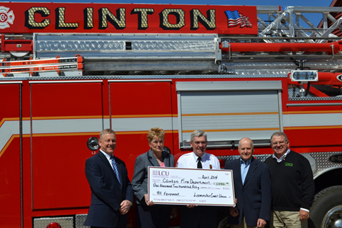 LCU Supports 911 System Updates in Clinton