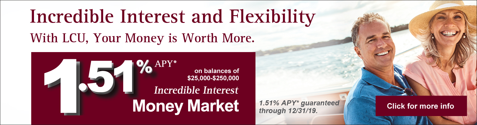 Incredible Interest and Flexibility