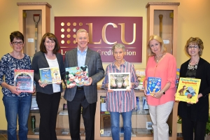 Books presented to local organizations