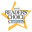 2018 Readers' Choice Landmark award