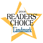 2018 Readers' Choice Champion award