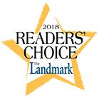 2018 Readers' Choice Champion award